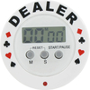 Dealer timer button