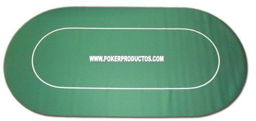 Tapete de Poker flexível verde