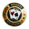 Card Guard Bullets dourado