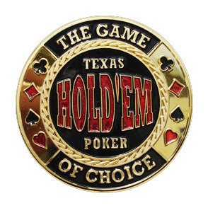 Card Guard Texas Holdem Gold