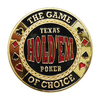 Card Guard Texas Holdem dourado