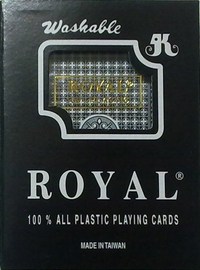 Royal 100% Plastic Playing Cards Blue