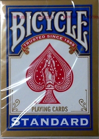 Cartas Bicycle Standard azul