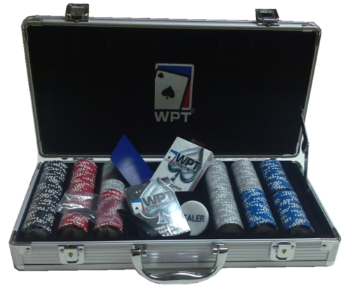 300 poker chips set Clay WPT