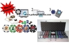 Chip Customizer + 500 poker chips set Dice