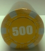 Rolls of 25 Dice Poker Chips value 500