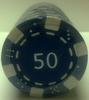 Fichas de Poker Dice valor 50