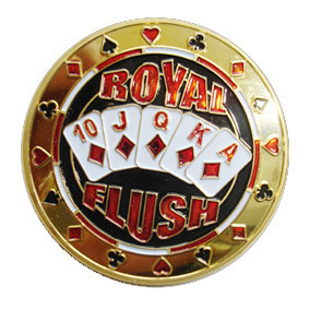 Card Guard Royal Flush Dorado