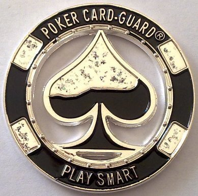 Card Guard Play Smart Plateado