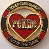 Card Guard Love the Game Doré