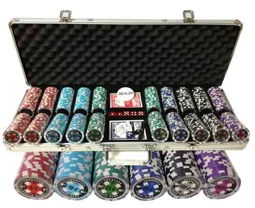500 poker chips set EPC