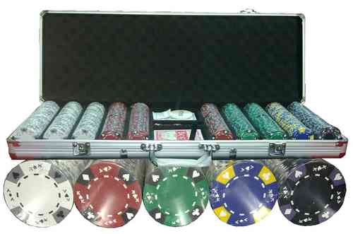 500 poker chips set Clay AK
