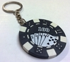 Poker Chip Key Ring