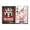 Fournier 100% Plastic Poker Cards WSOP Red Jumbo