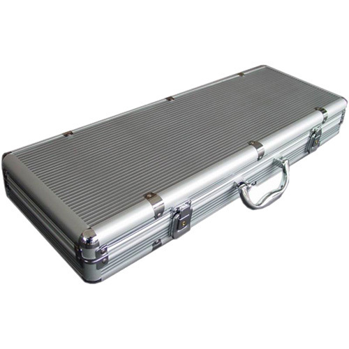 Empty aluminium Poker Case 500