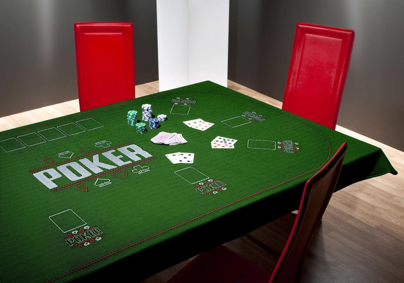 poker table cloth