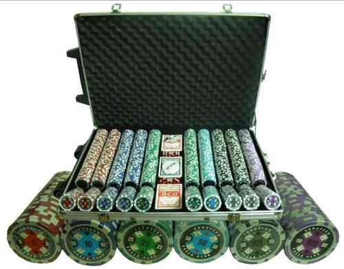 1000 poker chips set EPC