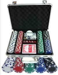 200 poker chips set Dice