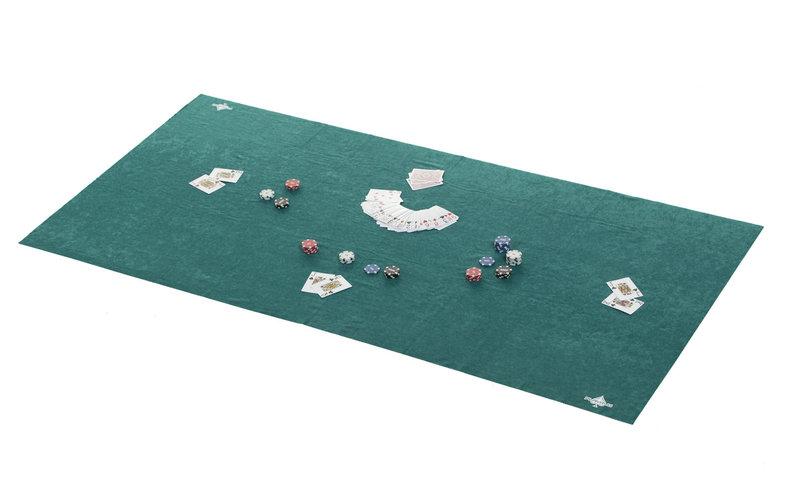 Poker table felt 180x90 green pokerproductos com