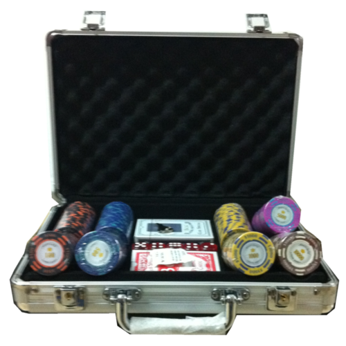200 poker chips set Montecarlo Millons High Roller