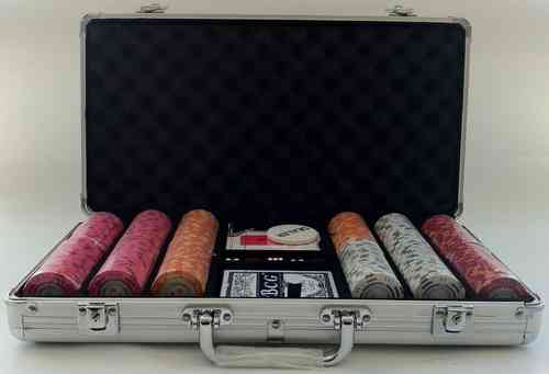 300 poker chips set Montecarlo CASH