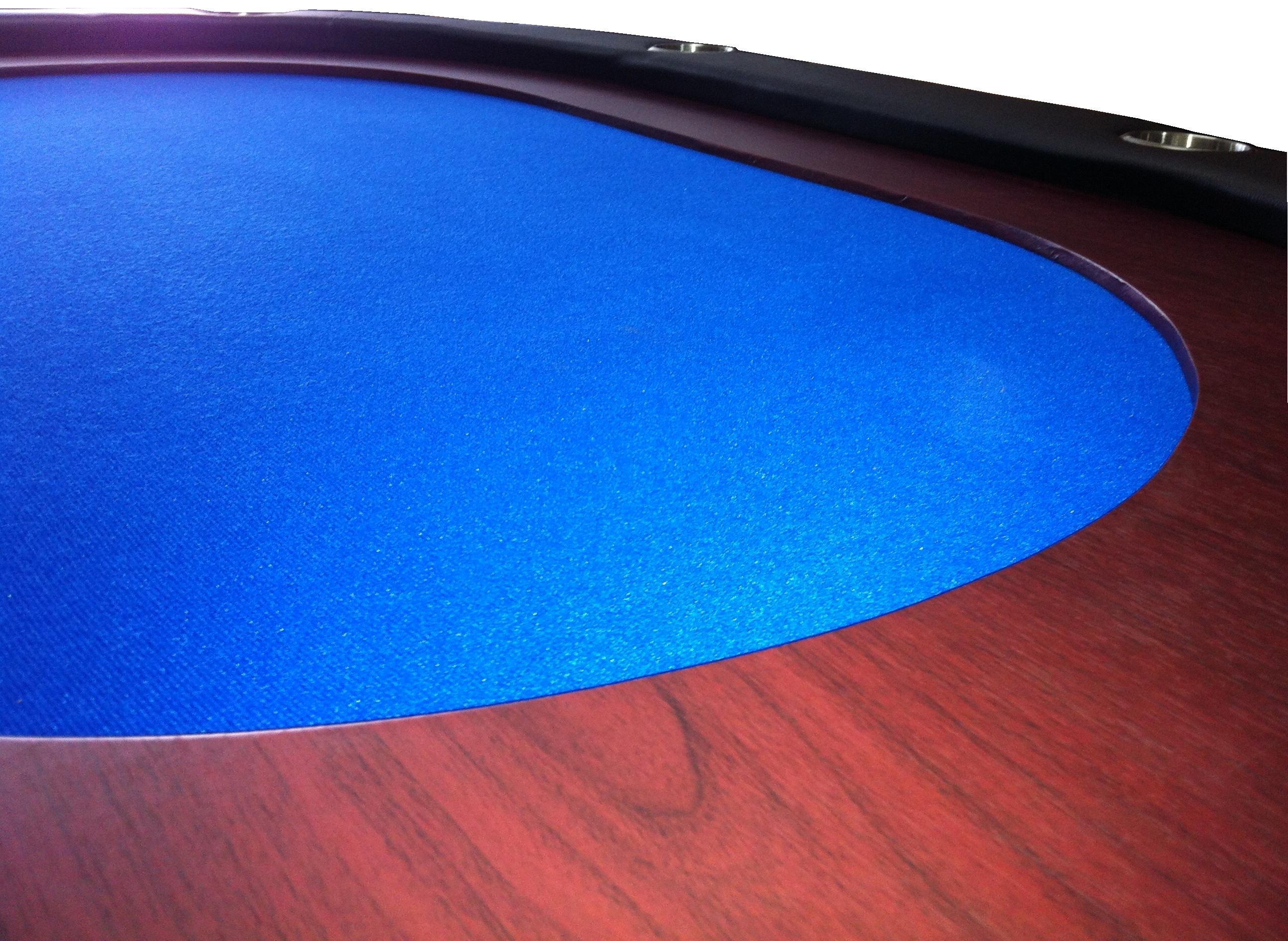 Mesa Oval plegable ALTA GAMA Azul 8 pax mesa formato mini