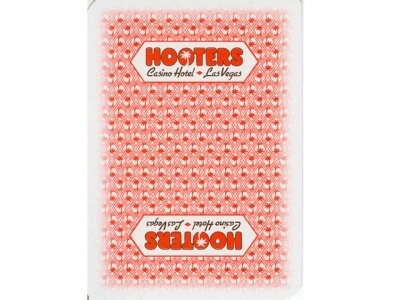 Hooters Playing Card Las vegas Casino