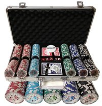 300 poker chips set Royal-Straight
