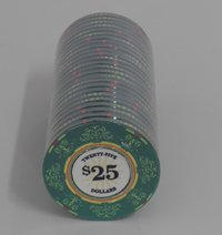 Fichas Ceramicas Casino Royale 25