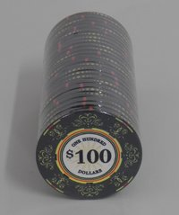 Ceramic Casino Royale Chips 100