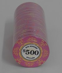 Ceramic Casino Royale Chips 500