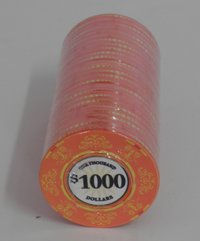 Fichas Ceramicas Casino Royale 1000