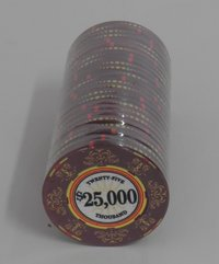 Ceramic Casino Royale Chips 25000