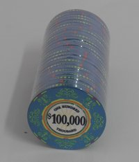 Fichas Ceramicas Casino Royale 100000
