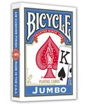 Bicycle Jumbo cards blue