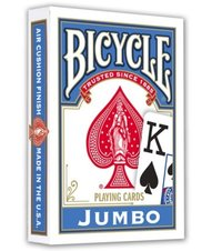 Cartas Bicycle Jumbo azul