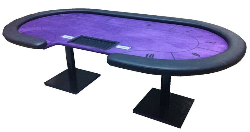 table de poker personalisable club 1. Black Bedroom Furniture Sets. Home Design Ideas