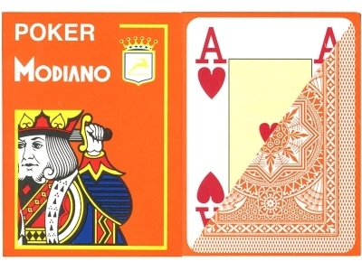 Modiano Poker Jumbo naranja