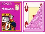 Modiano Poker Cards pink