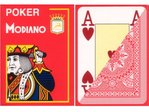 Modiano Poker Jumbo rouge
