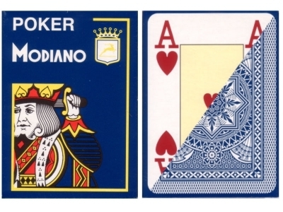 Modiano Poker Cards blue