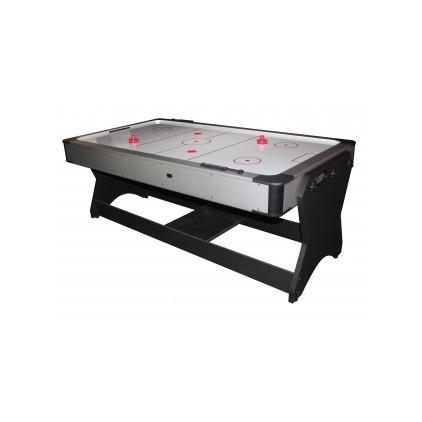 multi jeux tournant billard et airhockey. Black Bedroom Furniture Sets. Home Design Ideas