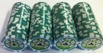 100 Fichas de Poker Royal Straight 25