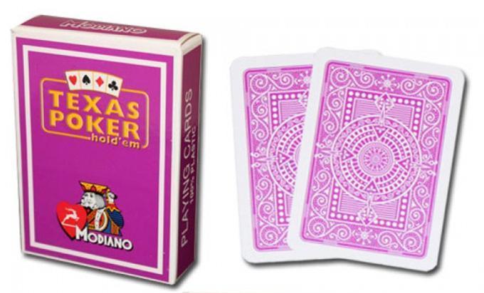 texas poker cards