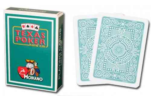 Modiano Texas Poker Cards green
