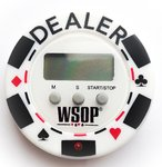 Digital Dealer Timer WSOP