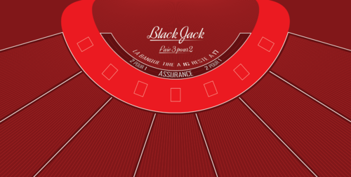 Location TAPIS BLACK JACK