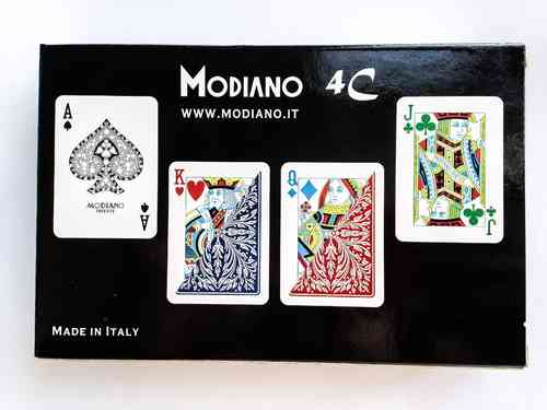 Modiano 4 Colors Poker