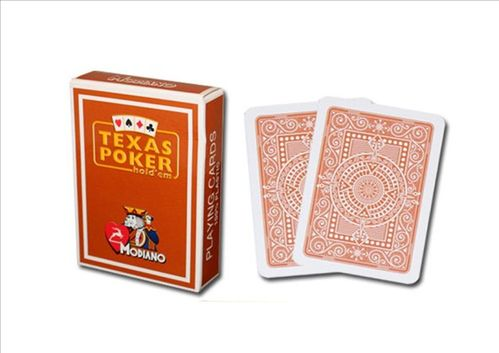 Modiano Texas Poker Jumbo marrón
