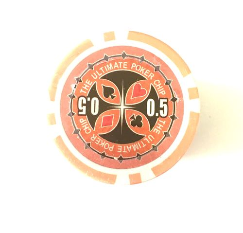 Recargas 25 Fichas Poker Ultimate Chip 0,50